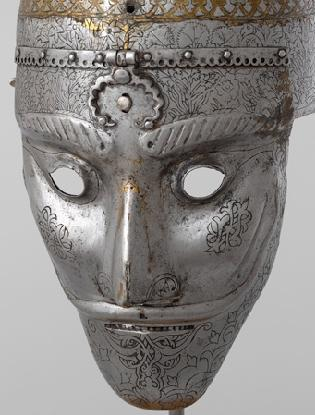 Helmet-with-Mask-Iran-16th-century