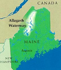 Allagash waterway