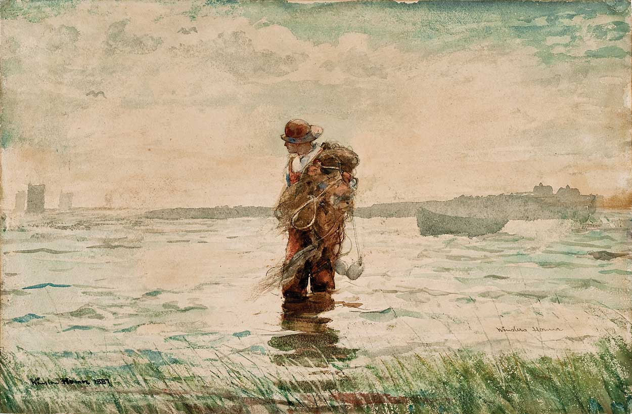 essay on winslow homer About this artwork herethe herring net homer depicted the heroic efforts of fishermen at their daily work essay: the herring net by winslow homer.