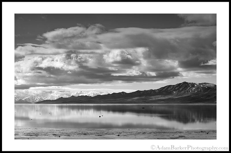 Antelopeislandreflectionbw_2