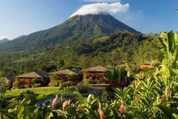 Arenal Nayara resort, in the shadow of Arenal volcano