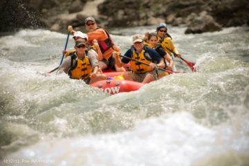 Rafting on the Salmon River with ROW Adventures
