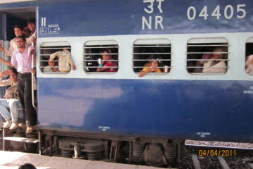 The train at Bharatpur