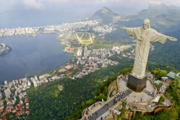 The view of Rio from Corcovado