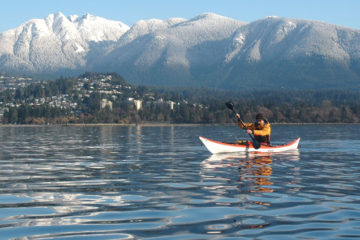 Vancouver offers incredible sea kayaking opportunities at its doorstep .