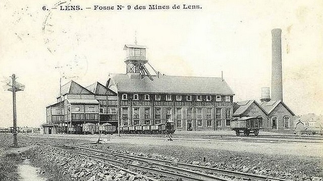 The mining days of Lens, France