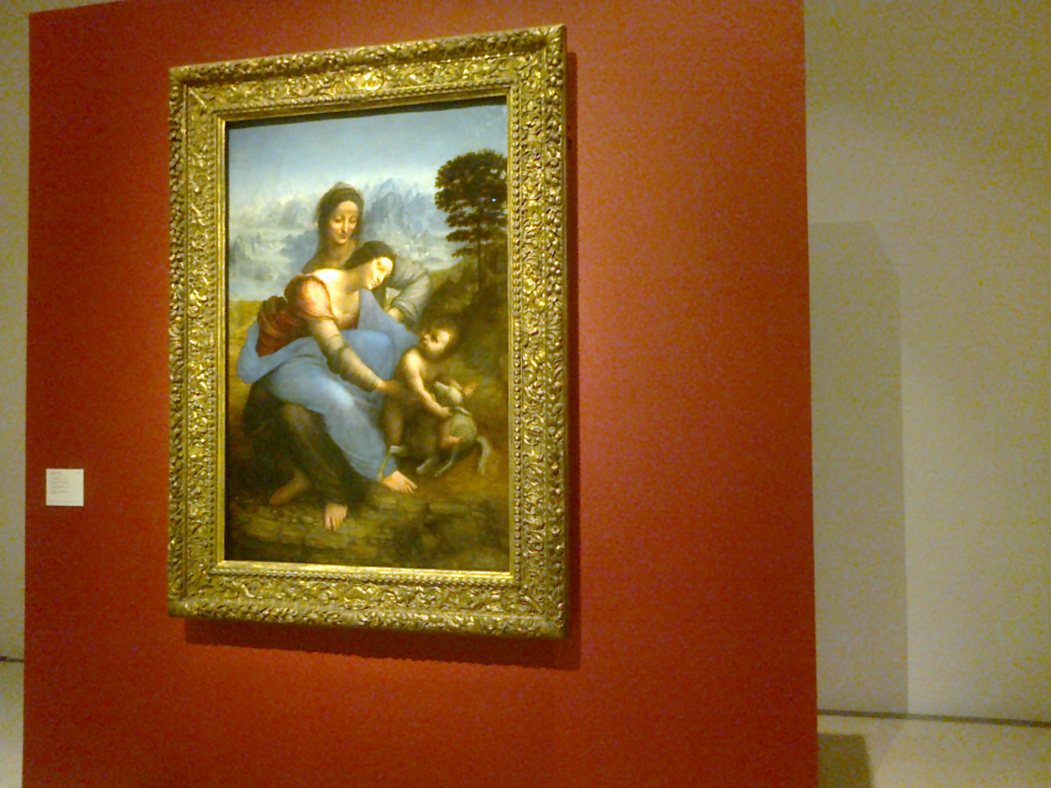 "Leonardo da Vinci's ""The Virgin and the Child with Saint Anne"""