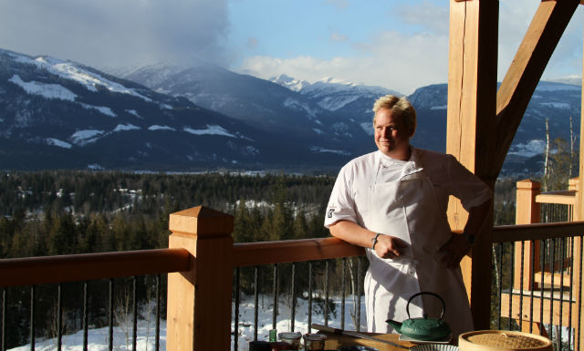 Chef Peter Hughes of Bighorn
