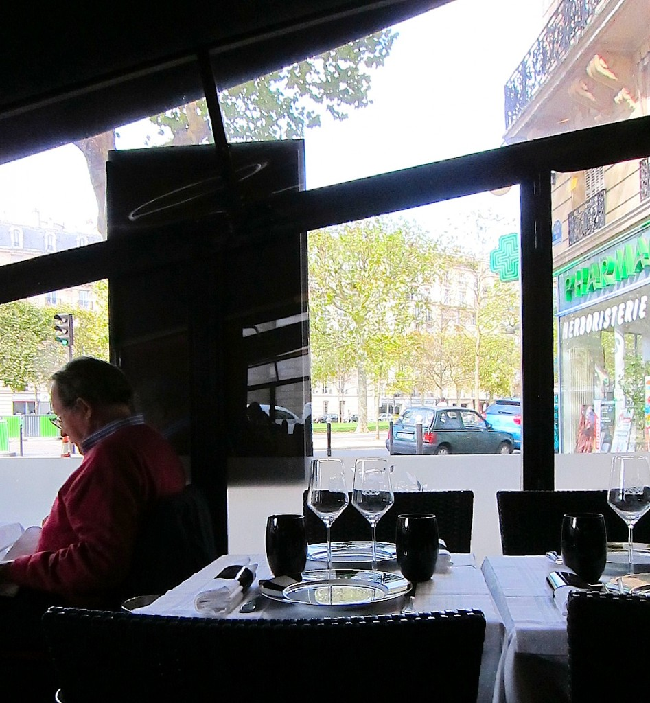 Terrace at Le Grand Bistro Breteuil