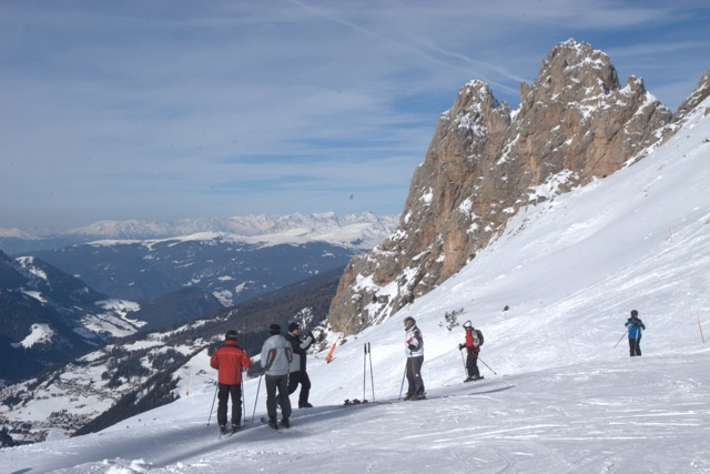On the slopes in Italy with ItaliaOutdoors Food and Wine