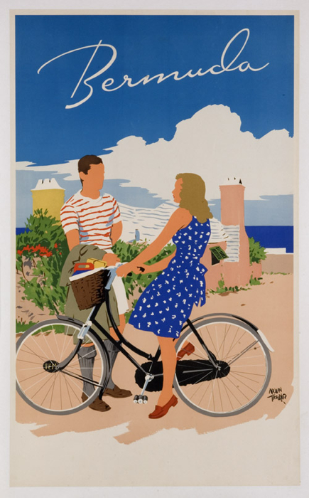 bermuda-bike-blue-dress