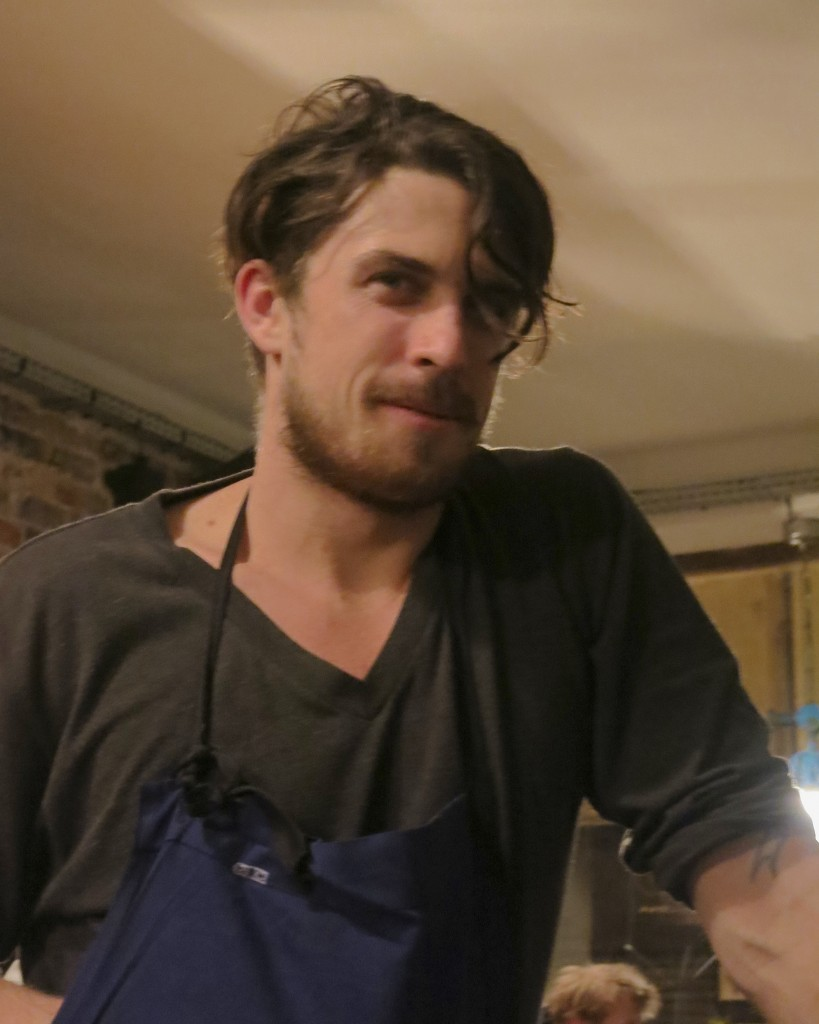 Chef James Henry of Bones, Paris
