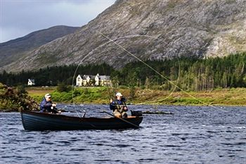 Fishing at Lough Inagh Lodge
