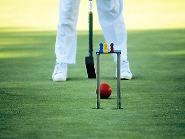 Croquet at Meadowood