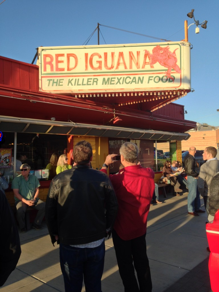 The fans of Red Iguana, Salt Lake City