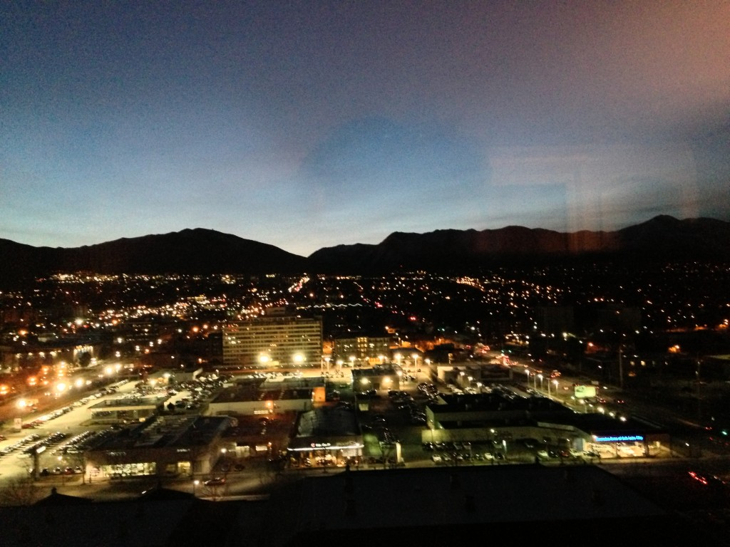 A new dawn in Salt Lake City, Utah