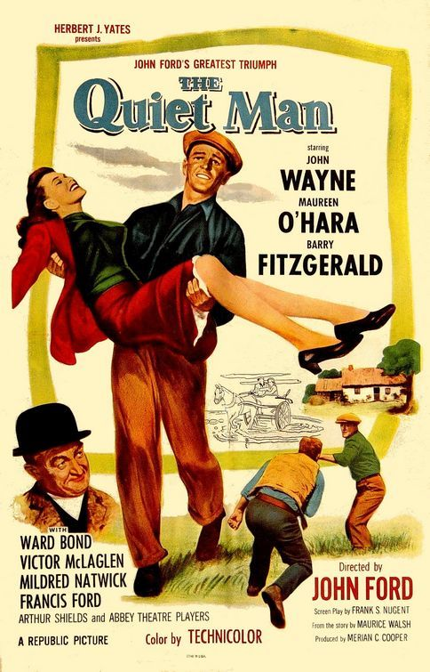 "Poster for ""The Quiet Man"""
