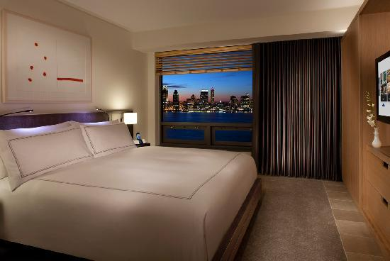 A room with an amazing view at The Conrad, in Lower Manhattan