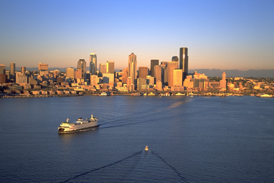 Seattle, one of Larry Olmsted's top 10 picks for a weekend getaway.