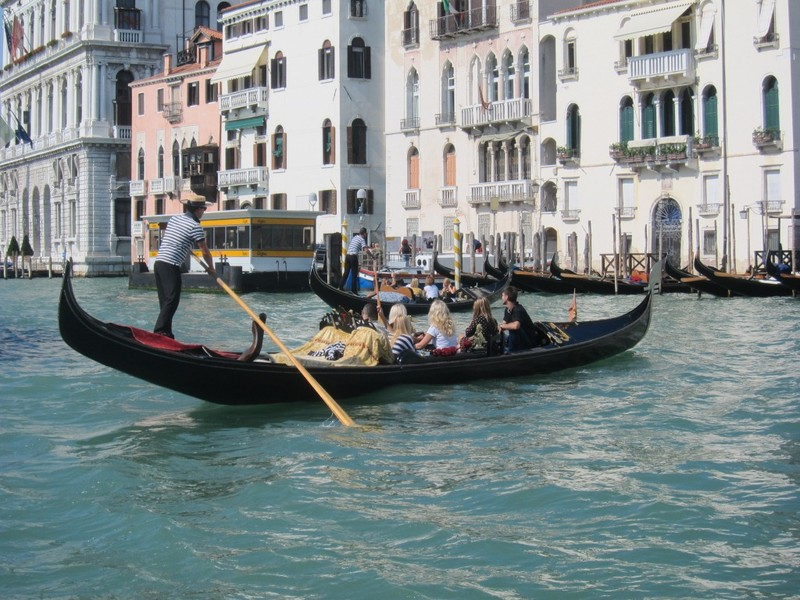A Venetian gondola ride? Of course.