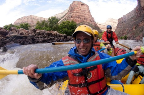 On the Yampa River with O.A.R.S.