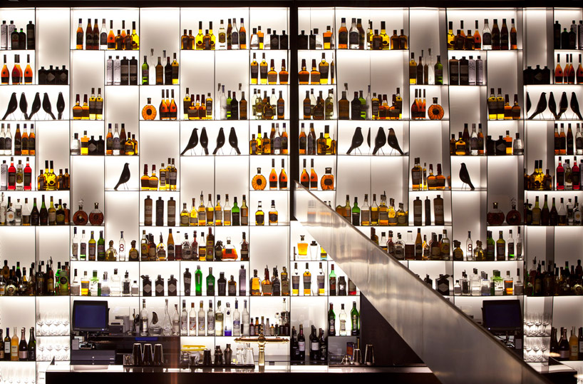 The Lounge bar at the Conservatorium Hotel, Amsterdam