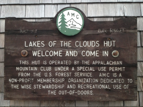 AMC's Lake of the Clouds hut, New Hampshire