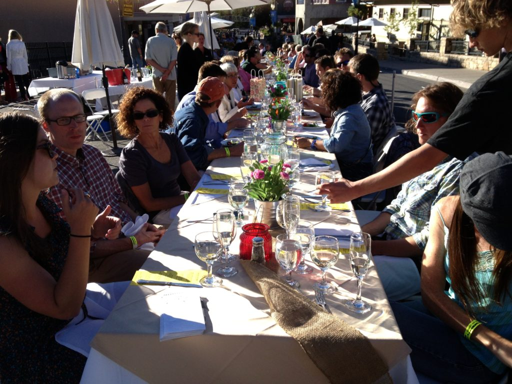 Dinner for 2,300 at Savor the Summit in Park City, Utah