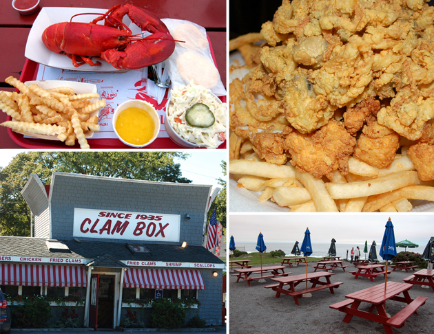 Summertime eats at The Clam Box in Ipswich, MA