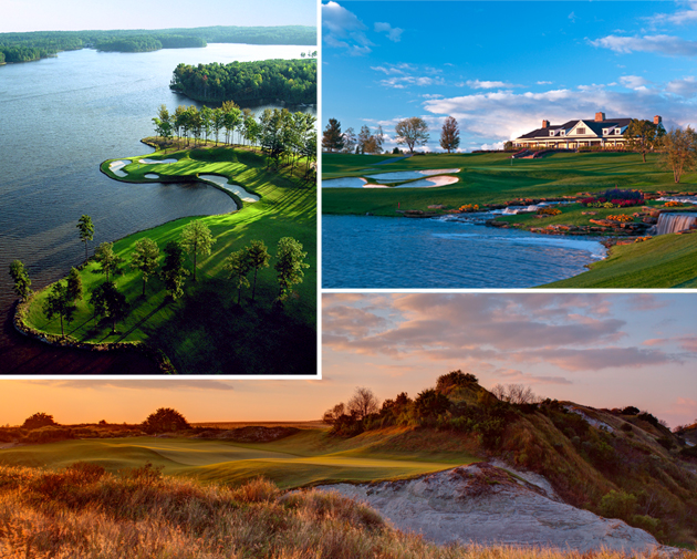 Four Great Golf Courses