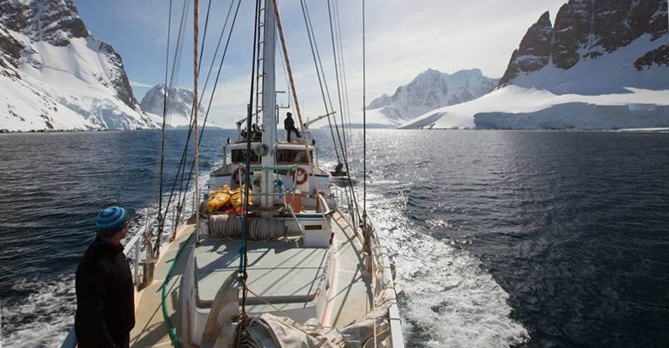 Sailing in Antartica with Natural Habitat Adventures