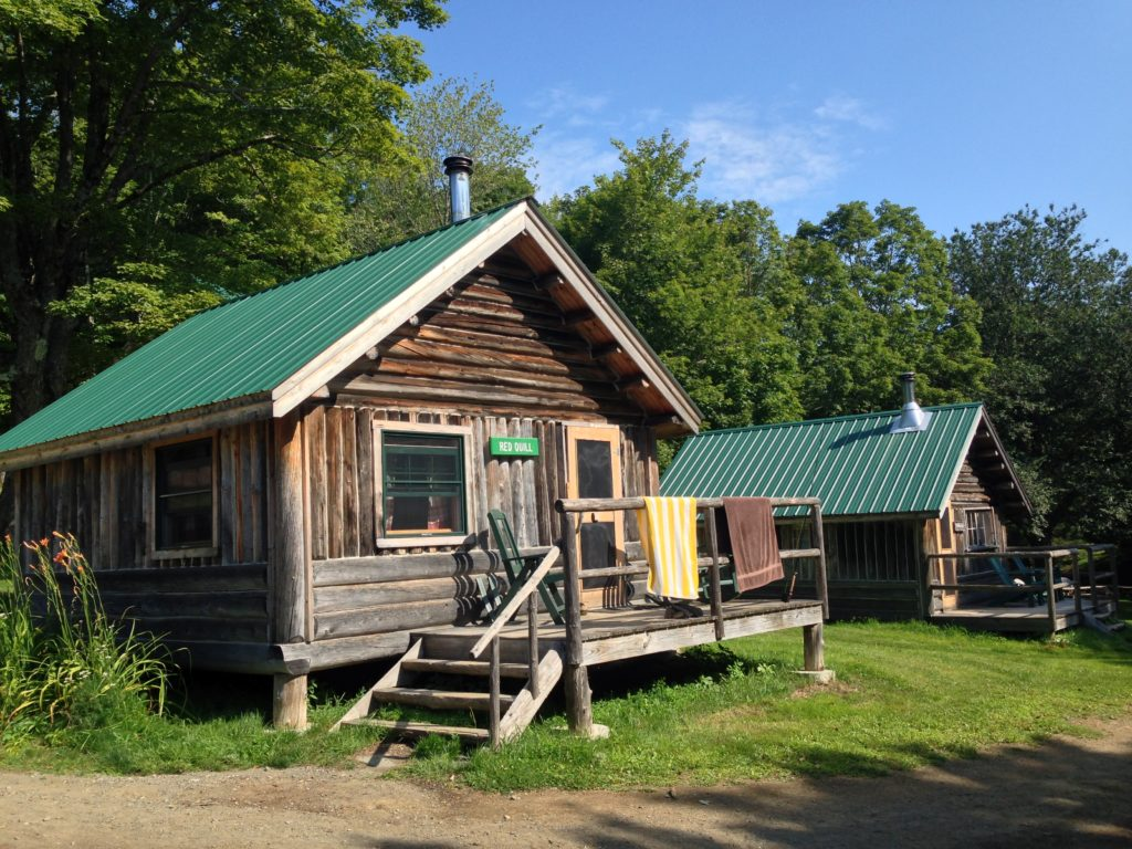 Red Quill cabin at Little Lyford Lodge & Camps, home for a week
