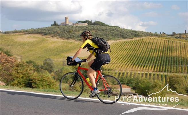 Biking in Tuscany with Pure Adventures