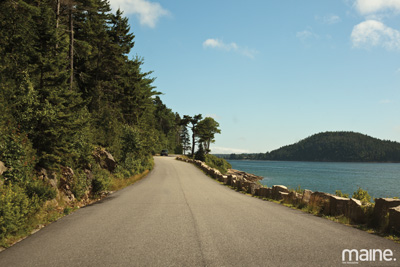 View of Somes Sound from Sergeant Drive. Courtesy of Maine magazine.
