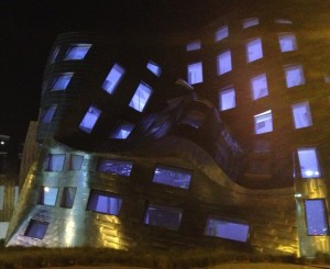 Frank Gehry designed the intriguing Lou Revo Center for Brain Health at Symphony Park. By Janet Snyder