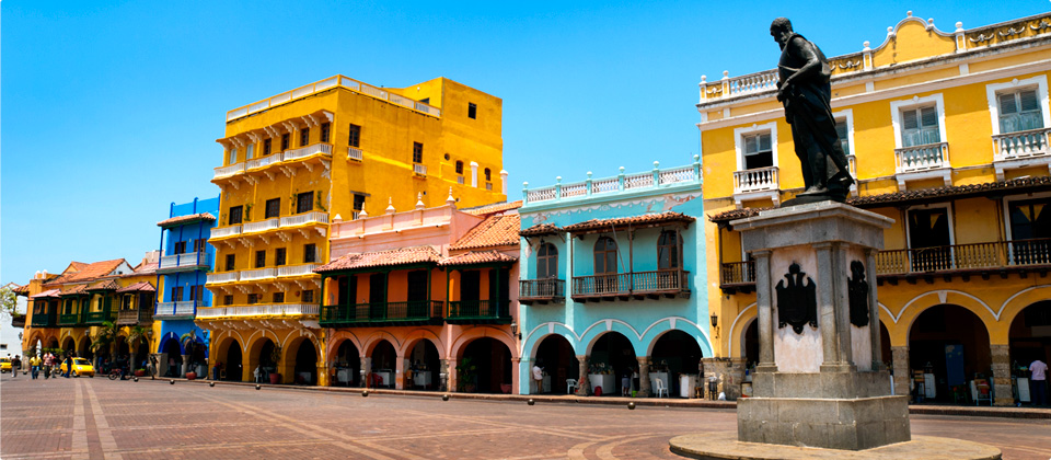 Some of Cartagena's well-preserved architecture