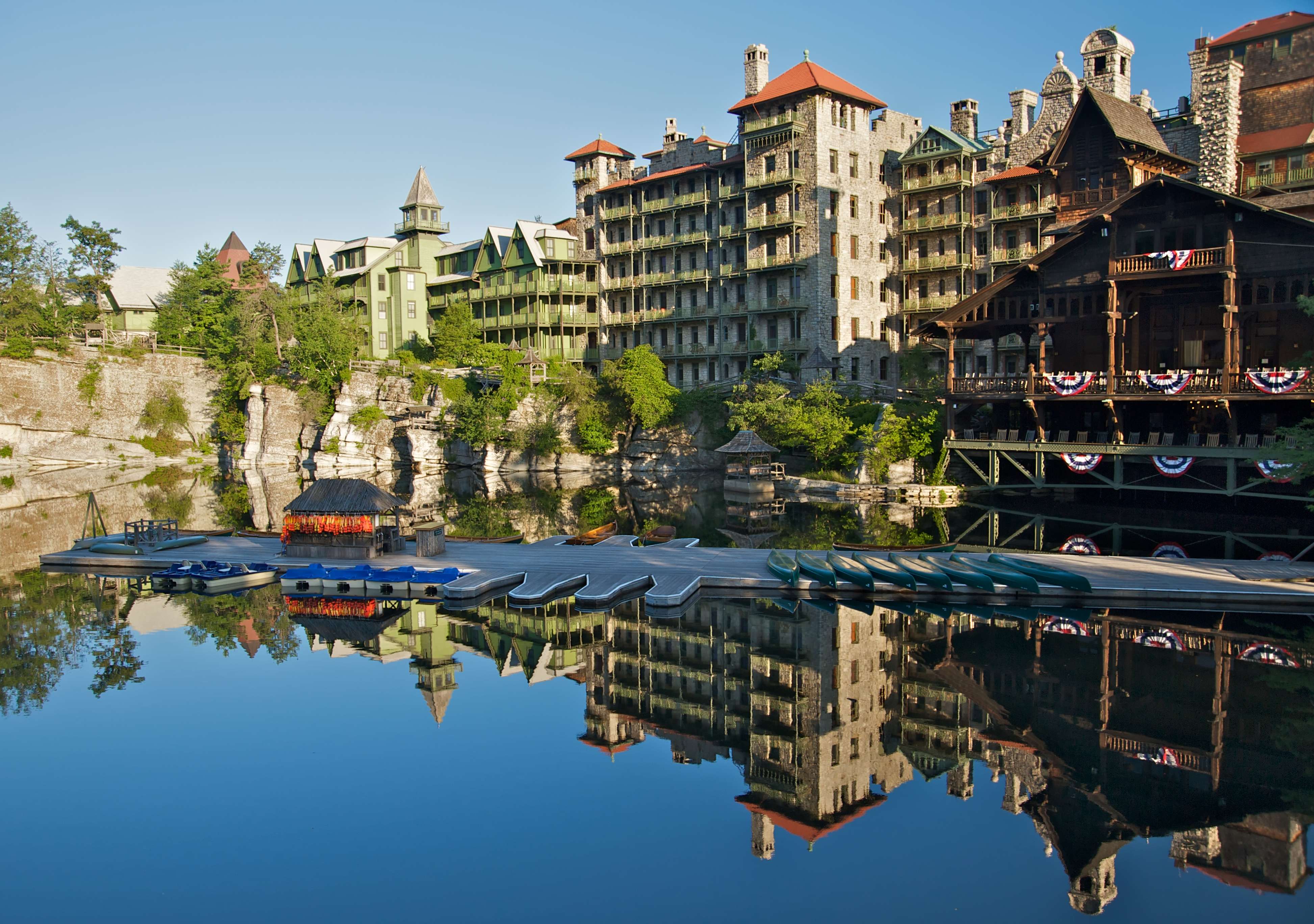 Image gallery mohonk for Weekend spa getaways ny