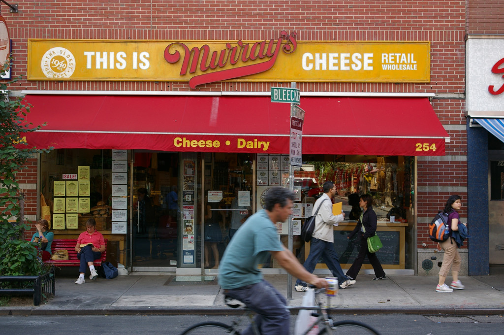 Murray's Cheese on Bleecker Street in New York.