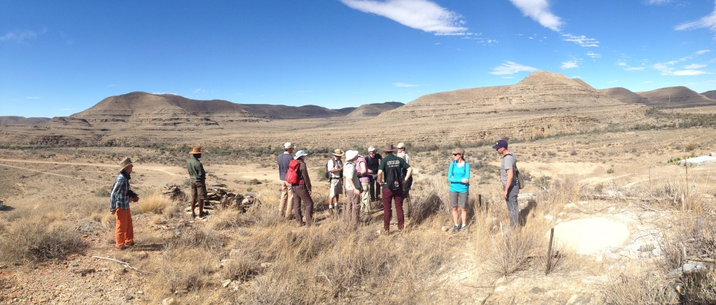 In the Tsaris Mountains of Namibia for the Adventure Travel World Summit 2013