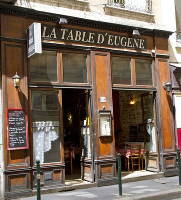 La Table d' Eugene, Paris