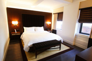 Guestroom at The Tuscany, a St Giles Luxury Hotel