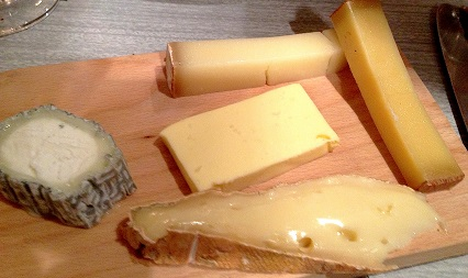 Cheese board at Les Enfants Rouge