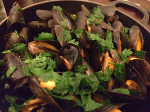Mussels at Bistro Bellet