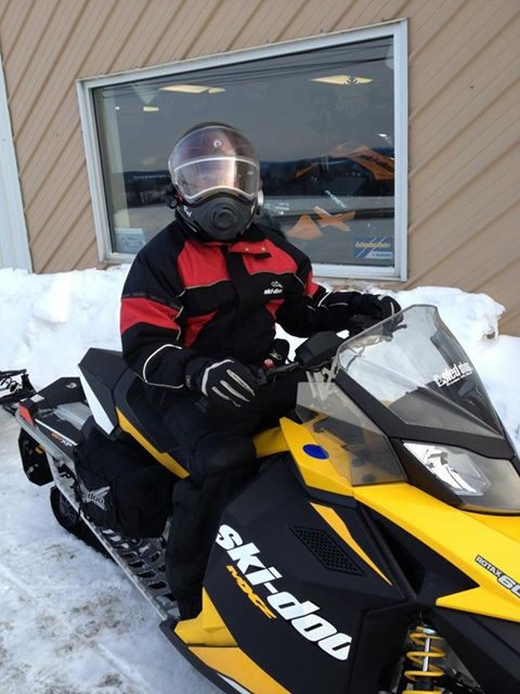 A snowmobile ride from Maine to New Brunswick