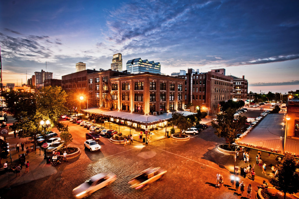 Omaha's Historic Old Market Entertainment District