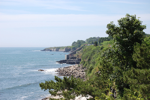 The Cliff Walk, Newport, Rhode Island