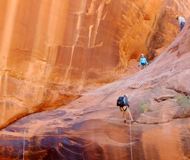 In canyon country in America's Southwest with Epic Private Adventures