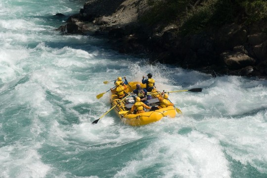 Rafting the  Chilko-Chilcotin-Fraser with R.O.A.M.