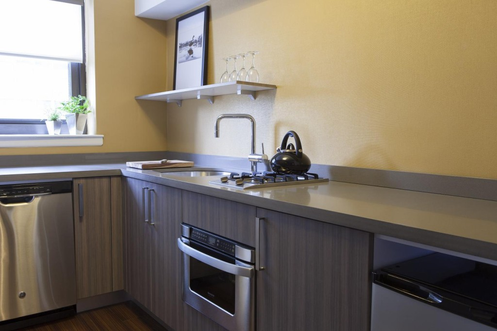 Affinia 50 kitchen.