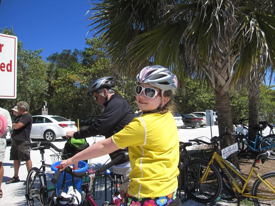Getting around on two wheels is a way of life on Sanibel Island, Flordia